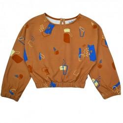 Baba Kidswear Clara shirt Painted forms